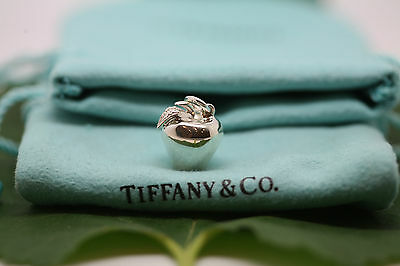 TIFFANY & CO Apple Charm/Pendant in Sterling Silver (925), pouch included!!