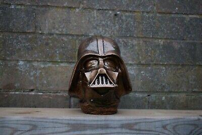 Star Wars Darth Vader Reconstituted Stone Garden Ornament Bronze  -Free UK P&P