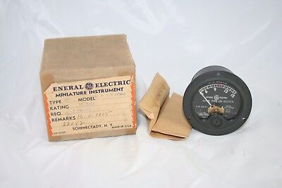 Vintage General Electric Panel Meter 0-15 Vac Vby28n46 Usn Type Cg Steampunk