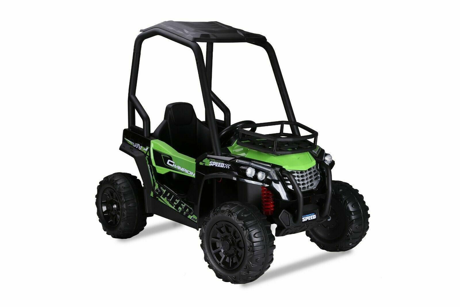 Kinder Elektro Auto UTV 2x120W Buggy Federung Kinderfahrzeug Kinderauto Elektro