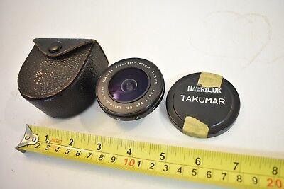 Nice Pentax Fish Eye Takumar 18mm F/11 Lens Very Rare M42 Screw Mount 1:11/18 US