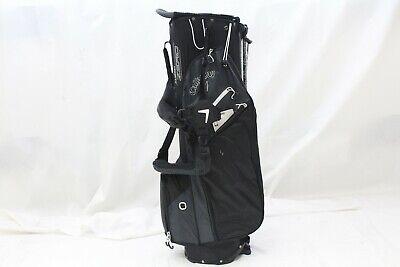 Black 14 Way Top (New Callaway Golf Fusion Zero 14 Way Top Stand Carry bag - Black Titanium White )