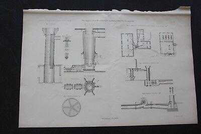 1893 Stich Bergbau / Königliche Friedrichshütte Tarnowitz 2