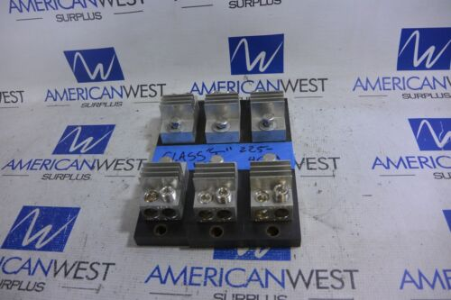 Set of 3 Class T 225-400A Fuse Holders