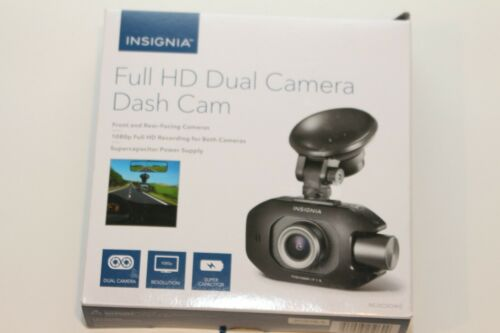 Insignia NS-DCDCHH2 Front and Rear HD Dual Camera Dash Cam - Black OPEN BOX