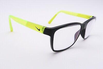 Nice Nike 5519 Rx Eyeglasses Frames 011 Yellow Black 49[]15-130 Horn Rim (Nike Prescription Sunglass Frames)