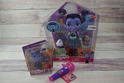 Mike And Mike Halloween 2017 (Vampirina Bat-Tastic Talking Doll Small Doll and Light up Microphone with)