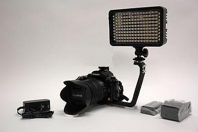 Pro 4k 12 Dslr Led Video Light Ac Adapter F570 For Nikon ...