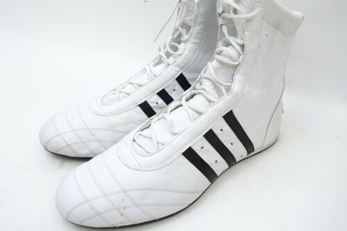 Vintage Adidas Boxing Shoes White Men Size 12.5 From 2003