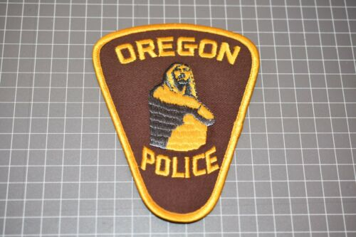 Oregon Police Department Patch (US-Pol)