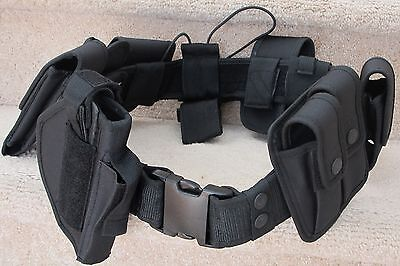 Police Officer, Security Guard Duty Belt A Complete Security Equipment System - Police Officer Belt