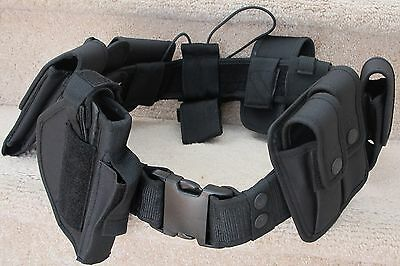 Police Officer, Security Guard Duty Belt A Complete Security Equipment System