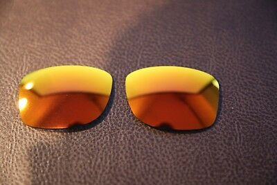 PolarLens POLARIZED Fire Red Iridium Replacement Lens for-Oakley Jupiter Squared segunda mano  Embacar hacia Spain
