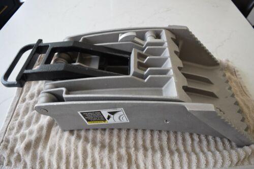 "ZICO SAC-44-E Aluminum Wheel Chock, 44"" Max DIA 11"" Max Tread Width $400 retail"