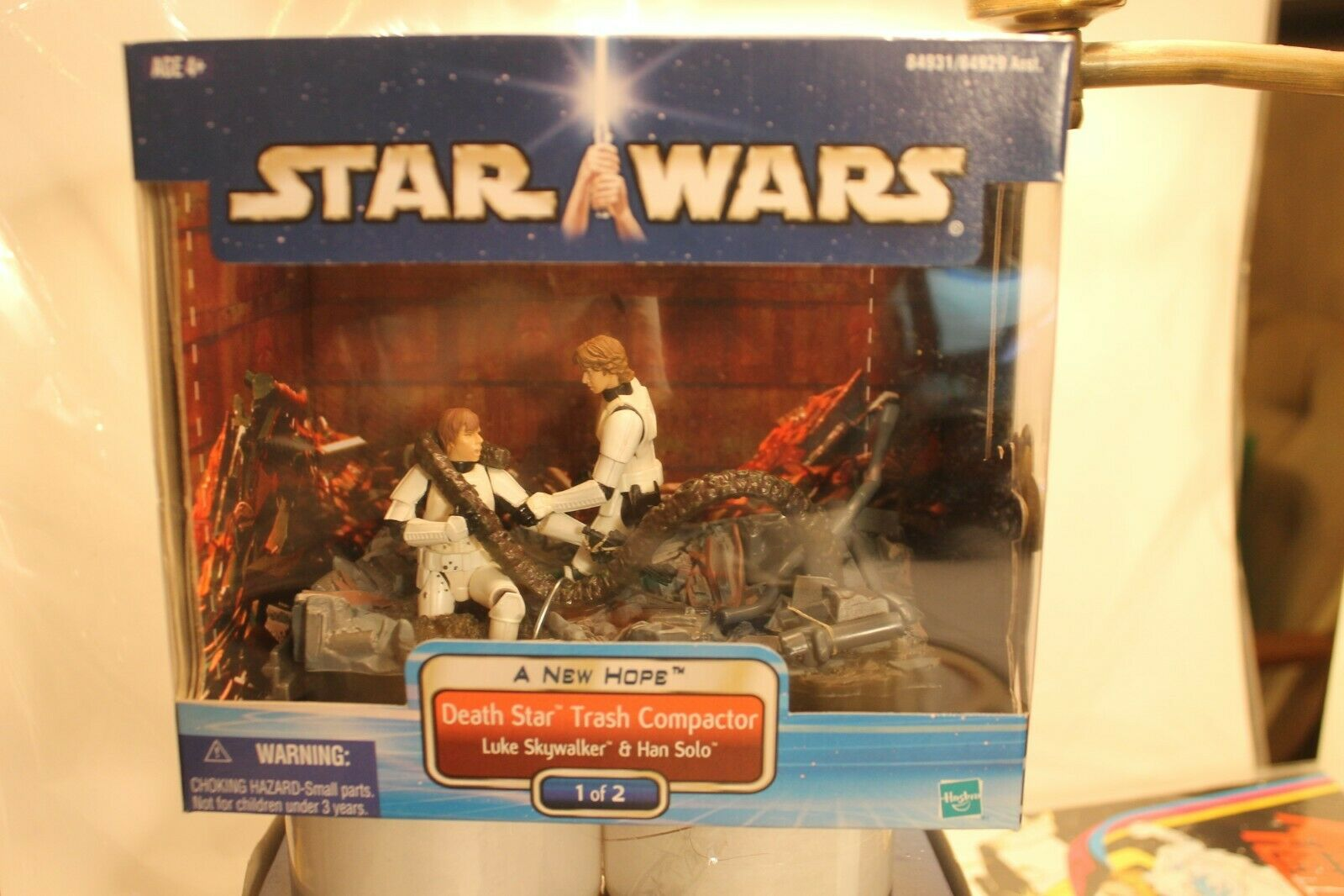 STAR WARS Death Star Trash Compactor 2012 1 of 2  A New Hope