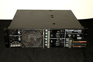 CREST-AUDIO-PFA600-AMPLIFIER-PORTABLE-DC-POWER-PA-VEHICLE-PARADE-AMP-PEAVEY-24V