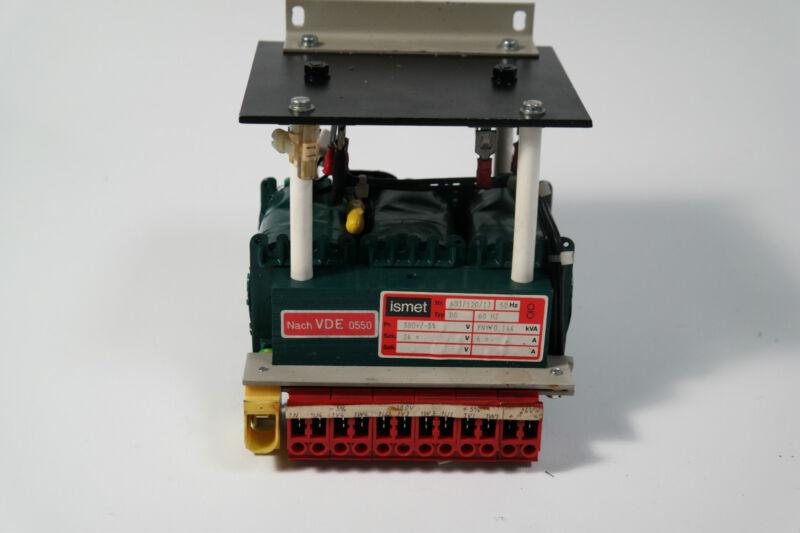 ISMET 603/120/1J , Type: Dg, 0.144 Kva, Trafo , Transformer Incl. Invoice
