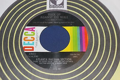 Atlanta Rhythm Section Back Up Against The Wall 45 From Co Vault Unopen Box (Atlanta Rhythm Section Back Up Against The Wall)