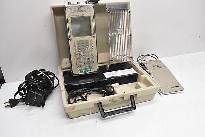 Tektronix Portable Oscilloscope Oscillograph T201 W Case P6115 Probe Cable