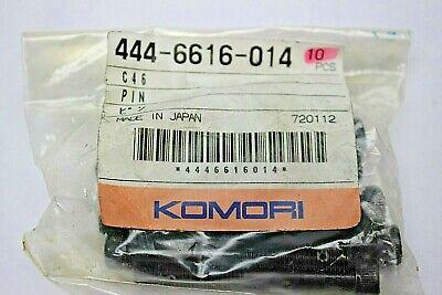 Genuine Oem Komori Pin 444-6616-014 Printing Press Part 10 Pcs