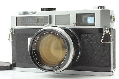 [Exc5+] Canon Model 7 Rangefinder 50mm f1.4 Leica L39 Mount from JAPAN #376