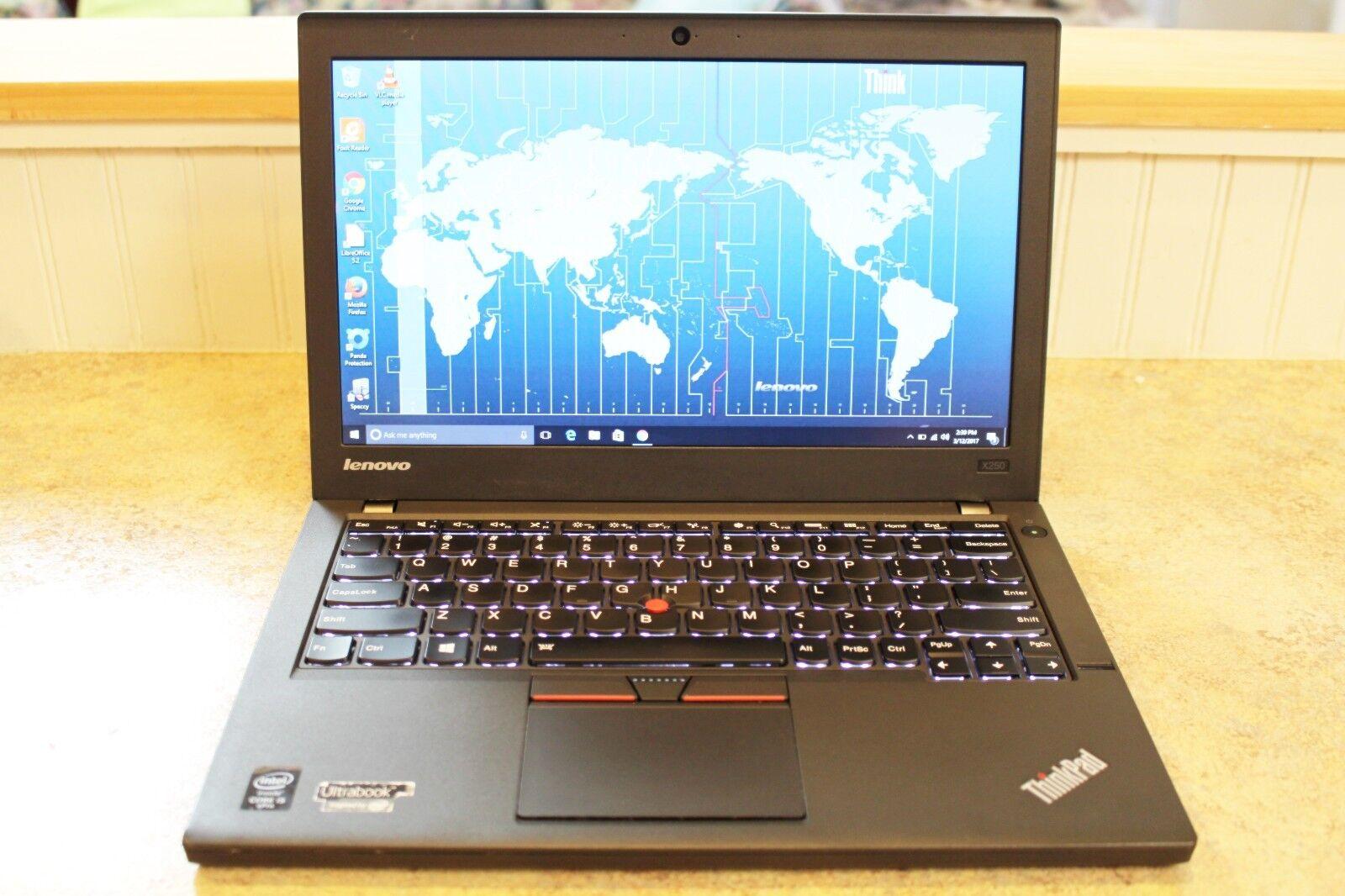 $479.99 - Lenovo ThinkPad X250 --- i5 2.3GHz - 8GB Ram - 500GB + SSD - Warranty