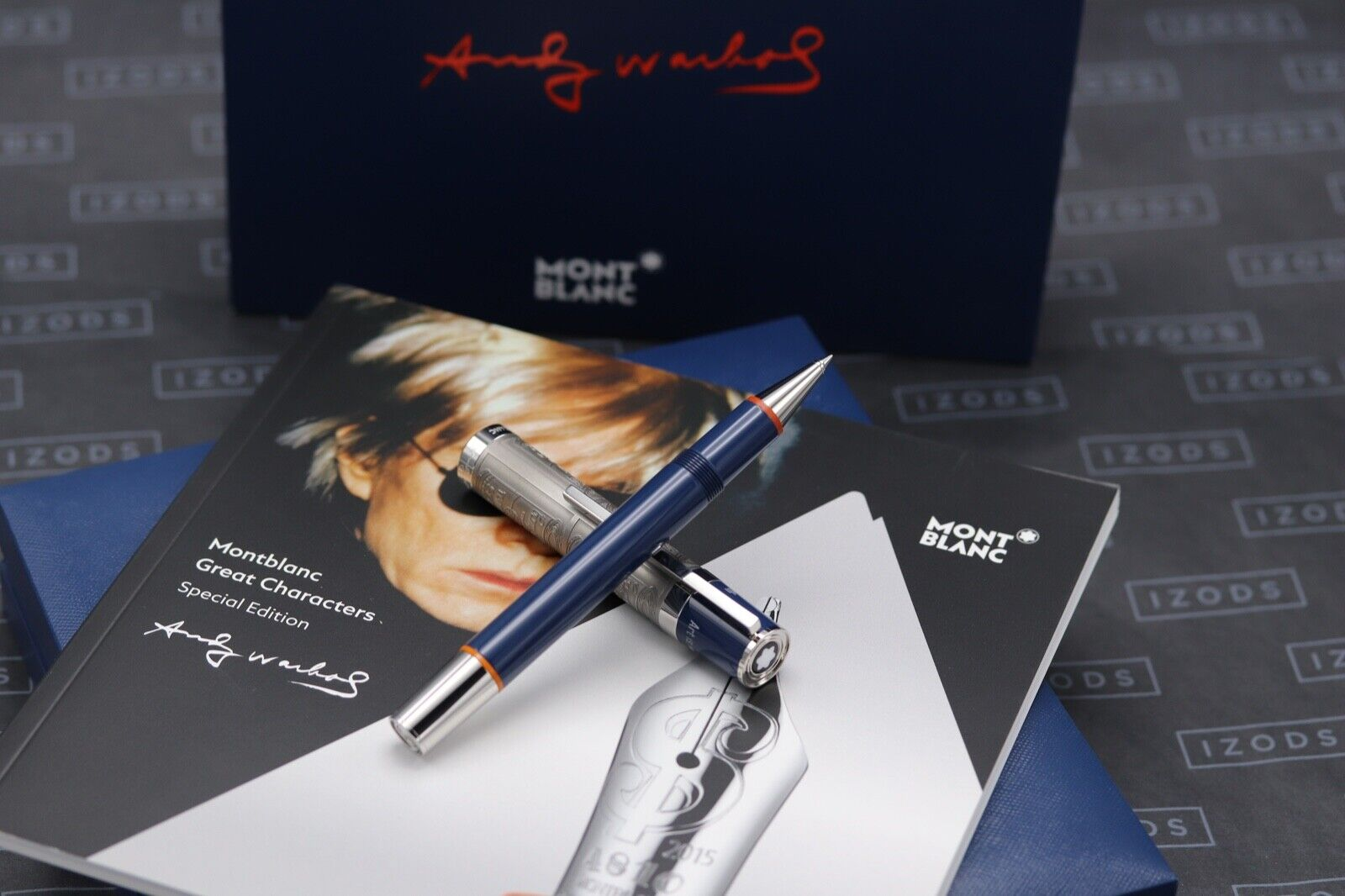 Montblanc Great Characters Andy Warhol Special Edition Rollerball Pen - UNUSED