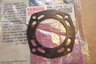YAMAHA WR650 WRB650 SJ650  JETSKI GENUINE MUFFLER DAMPER GASKET - # 6M6-14739-00