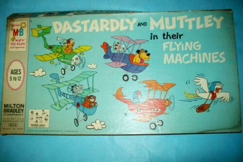 1969 Dastardly & Muttley in their Flying Machines Game-Complete