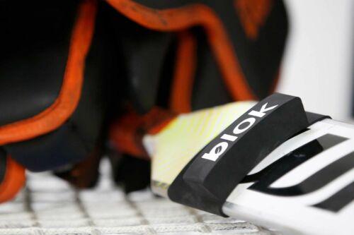 BLOK Goalie Stick Finger Protector! Hockey Goal Index Finger Protection Aid