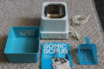 Vintage Clairol Sonic Scrub Denture Cleaner