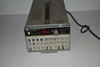 Hewlett Packard 3314a Function Generator Ms75