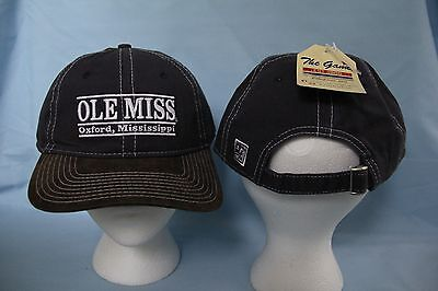 Ole Miss MISSISSIPPI REBELS Outdoor Bar Strapback CAP/HAT One Size Fits Most NWT ()