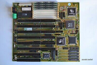 386 Motherboard PCChips M321 + AMD 386DX-40 + Cyrix 387 FPU + 4MB RAM RETRO KIT