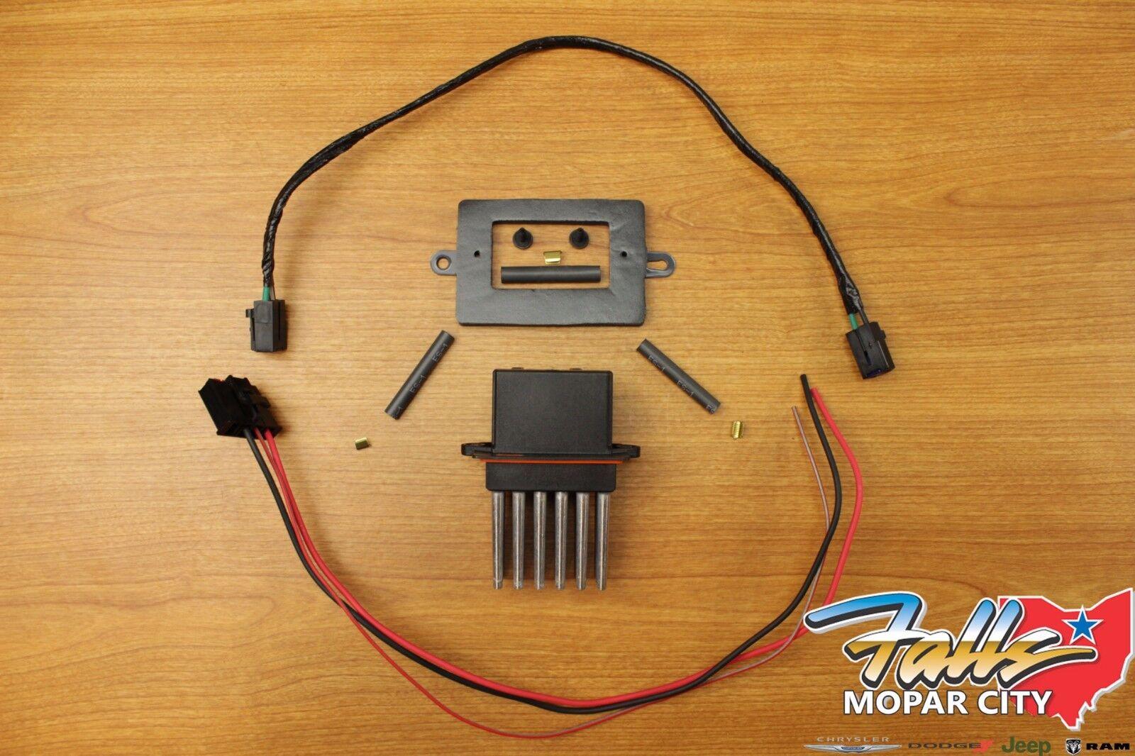 1999-2004 Jeep Grand Cherokee WJ Blower Motor Resistor ...