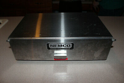 Nemco 8024-bw Hot Dog Bun Warmer For 8010 Series Roller Grills