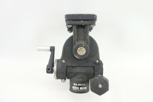 Vintage Majestic Model 1600 Geared Tripod Head