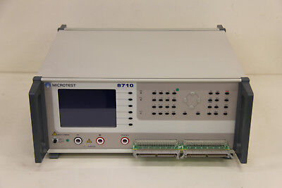 Microtest 8710 Cable Harness Tester Automatic Impusle Testing Up To 1500v