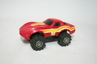 LJN Rough Riders Chevy Corvette red motor runs light works
