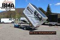 EDUARD Anhänger Rückwärtskipper 260x150x30 1500kg +Ihre Werbung Baden-Württemberg - Tannheim Vorschau