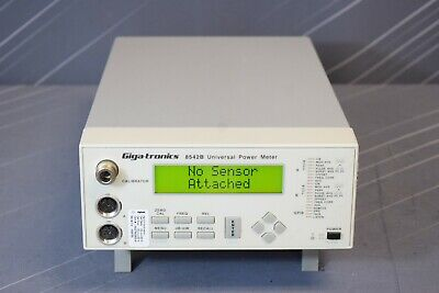 Gigatronics 8542b 02 06 07 Dual Channel Rf Power Meter