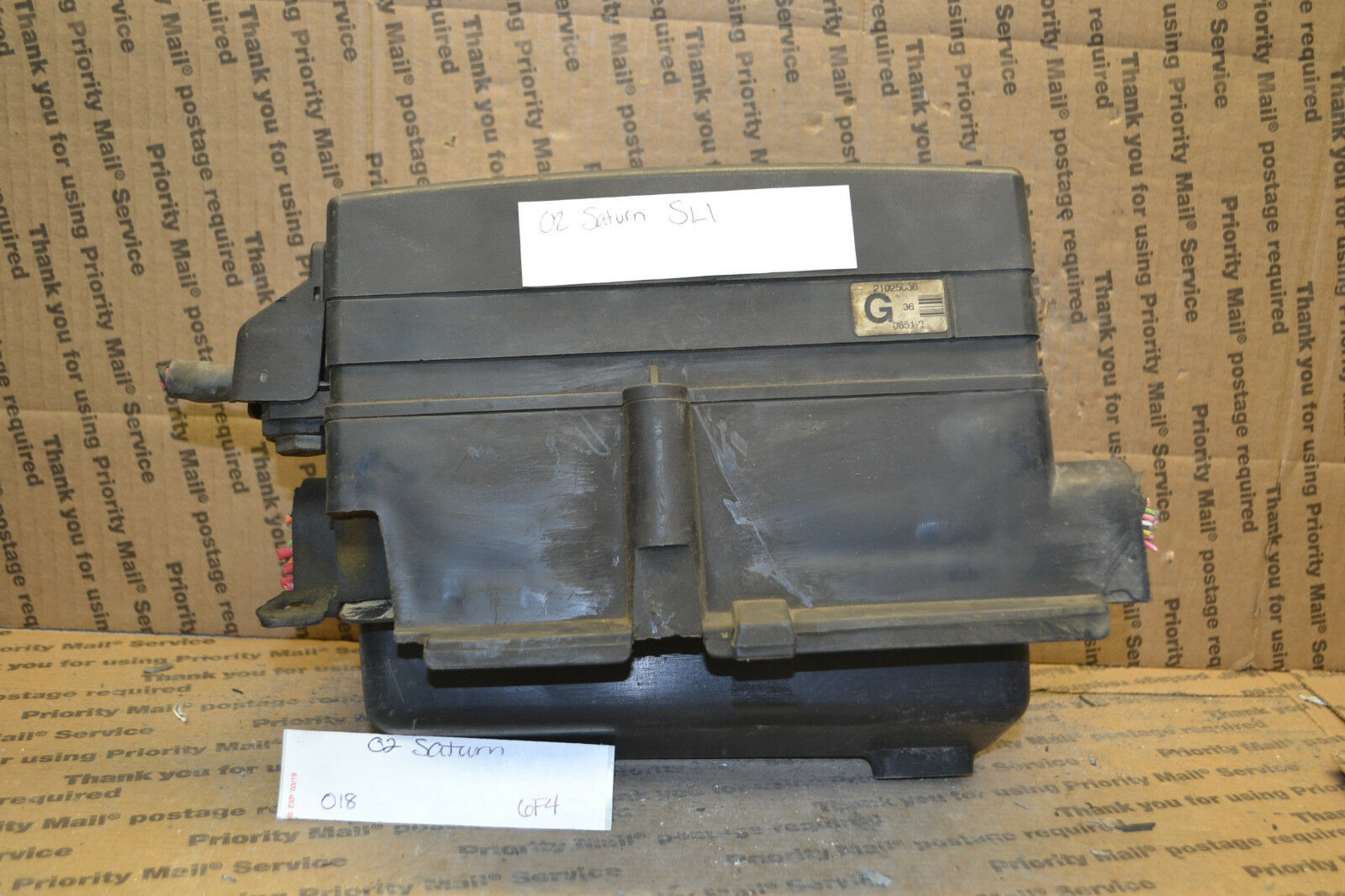 Used Saturn Sl1 Computers And Cruise Control Parts For Sale Sc1 Fuse Box 2000 2002 Junction Oem 21025036 Module 018 6f4