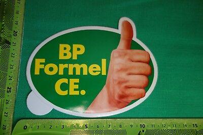 Alter Aufkleber Tankstelle Kraftstoff BP Formel CE
