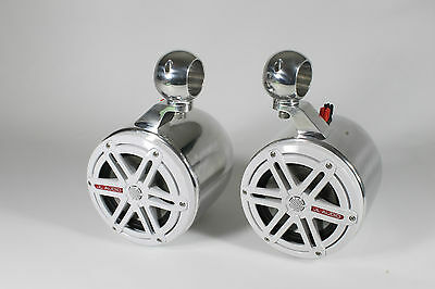 "JL Audio 7.7"" Marine Wakeboard Tower Speakers & Cans-NEW! for sale  Wendell"