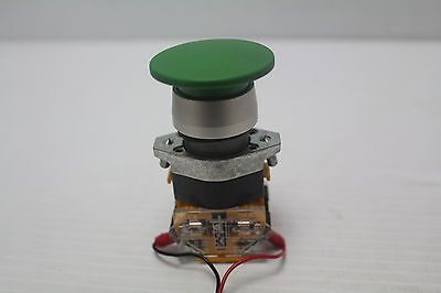 Eao 704.901.1 Green Pushbutton Stop Switch Used