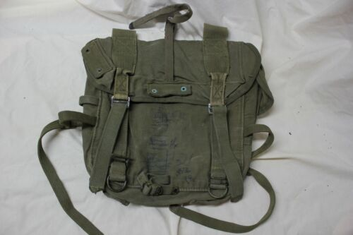 US Military Issue WW2 WWII ARMY MARINE COMBAT FIELD BACK PACK Backpack OriginalG