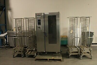 Rational Cpc201e 20 Pan Capacity Electric Combi Oven W 4 Roll-in Racks 480v