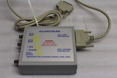 Vibration Test Systems Jx-2 Junction Box Dsc-1 For Sine Random Controller