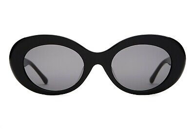 Crap Eyewear Sunglasses The Love Tempo Gloss Black / Grey Lens