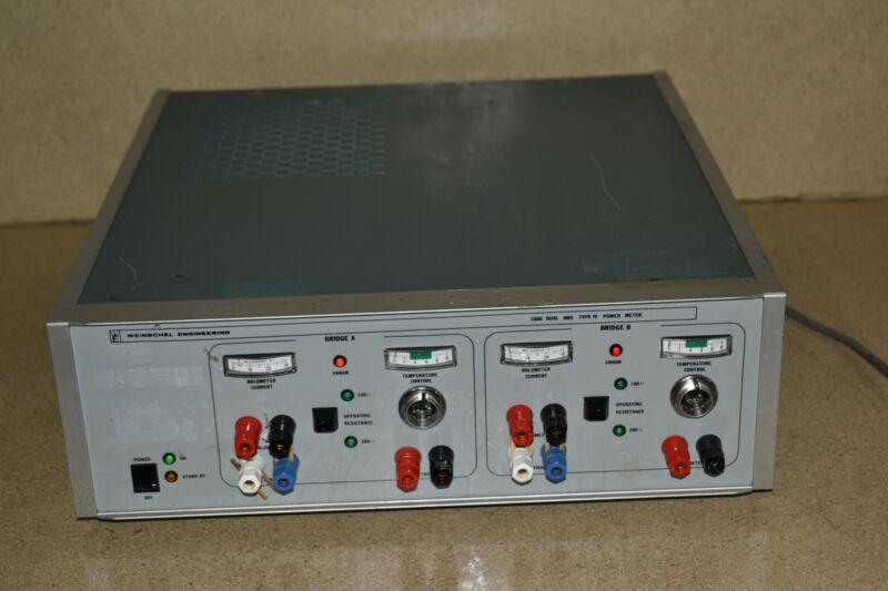WEINSCHEL 1806 DUAL NBS TYPE IV POWER METER (AG40)